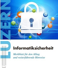 Flyer Informatiksicherheit